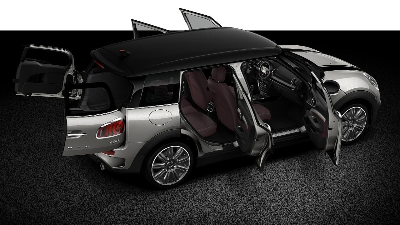 Mặt cắt toàn bộ thân xe của MINI Cooper S Clubman