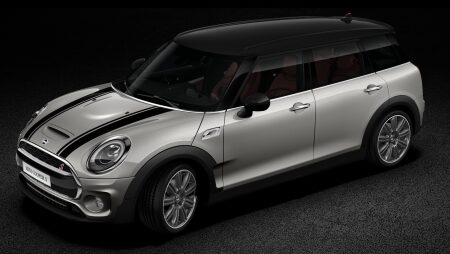 MINI Cooper S Clubman contrasting coloured roof