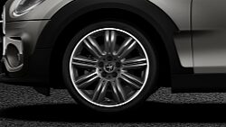 "MINI Cooper S Clubman 19"" 2-tone wheels"