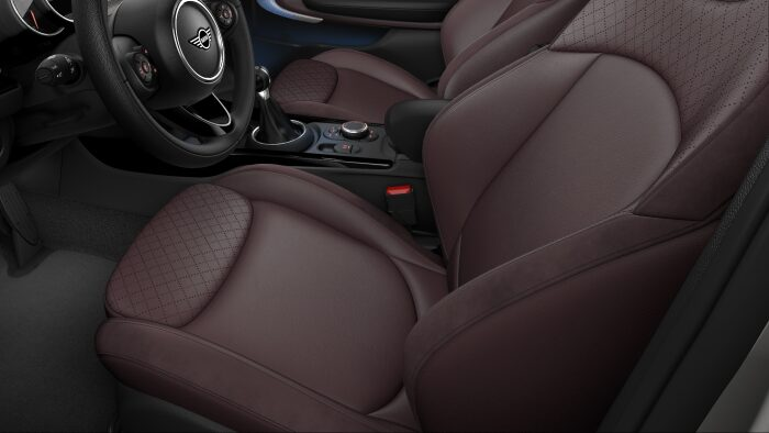 MINI Cooper S Clubman Leather Cross Punch seats