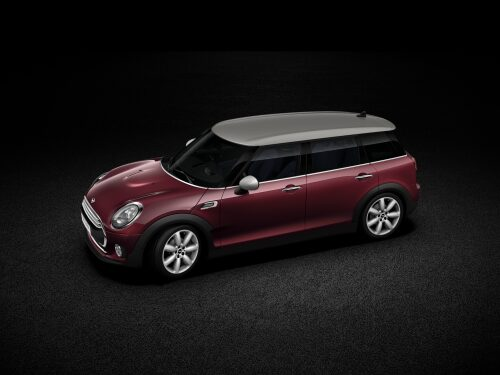 MINI Cooper Clubman  side profile
