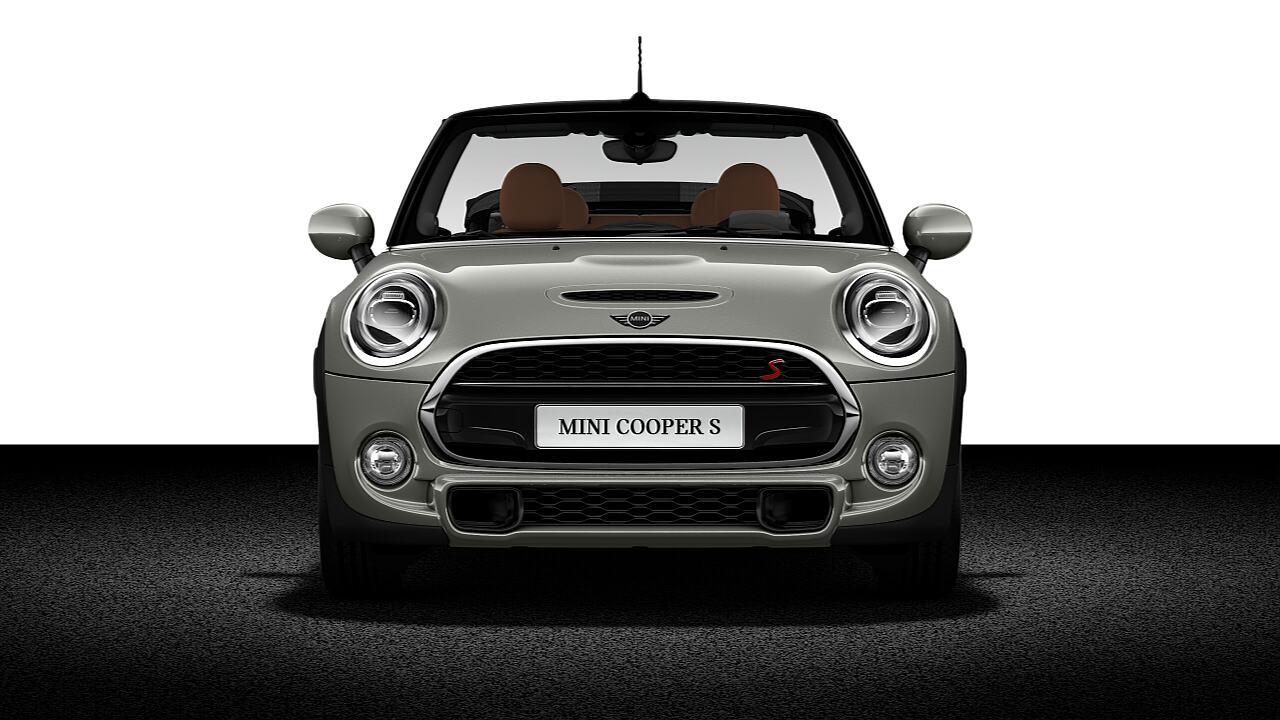 Vista Frontal do MINI Cooper S Conversível