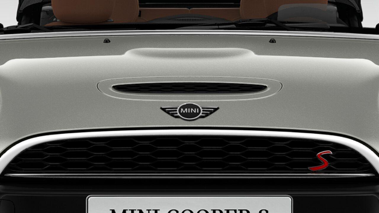 MINI Cooper S Convertible air-scoop bonnet with S badge