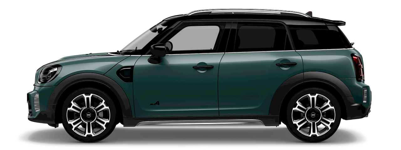 MINI Countryman – side view – green