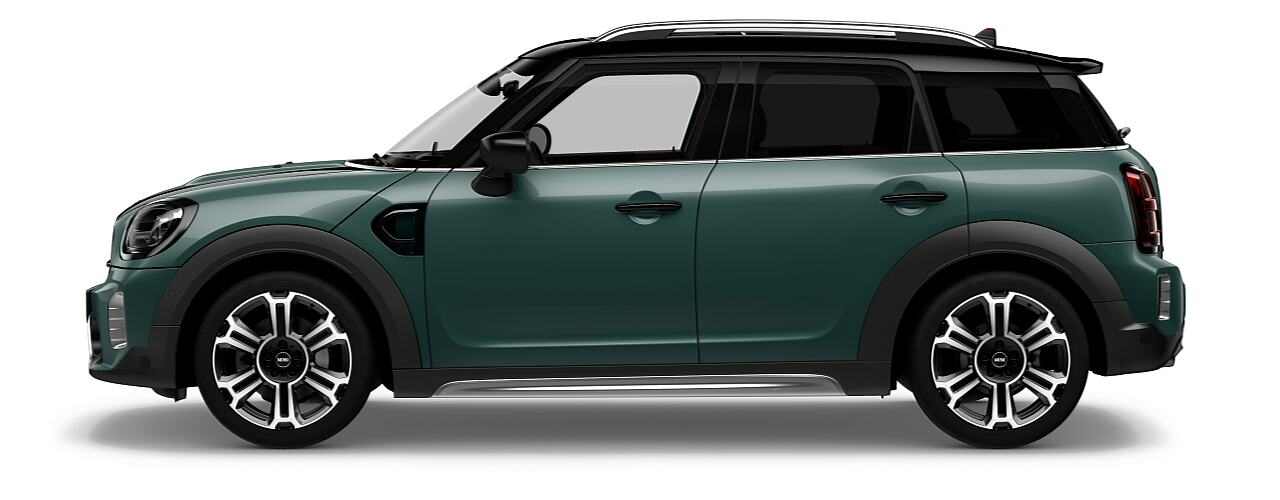 MINI Cooper S Countryman –  vista frontal y lateral