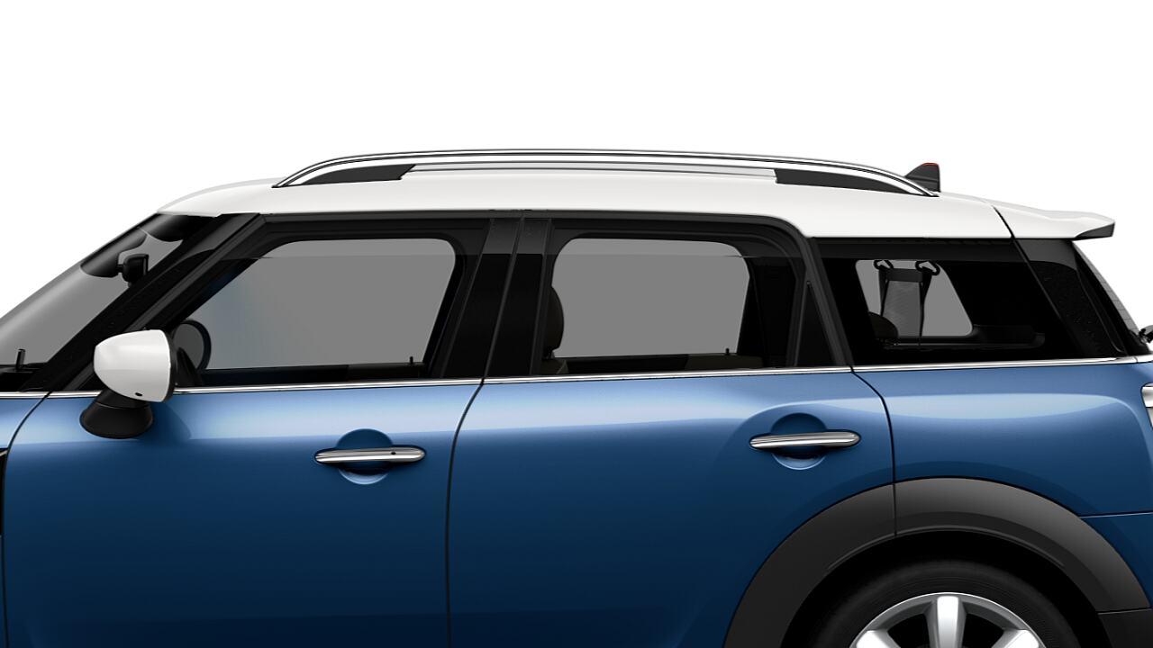 Techo y carcasas de los retrovisores del MINI Cooper S Countryman
