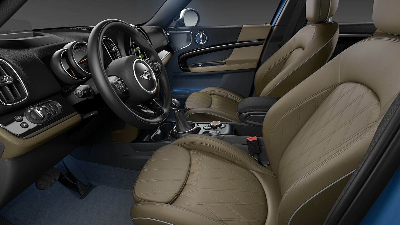 MINI Countryman electric seat adjustment - SUBSTANCE.