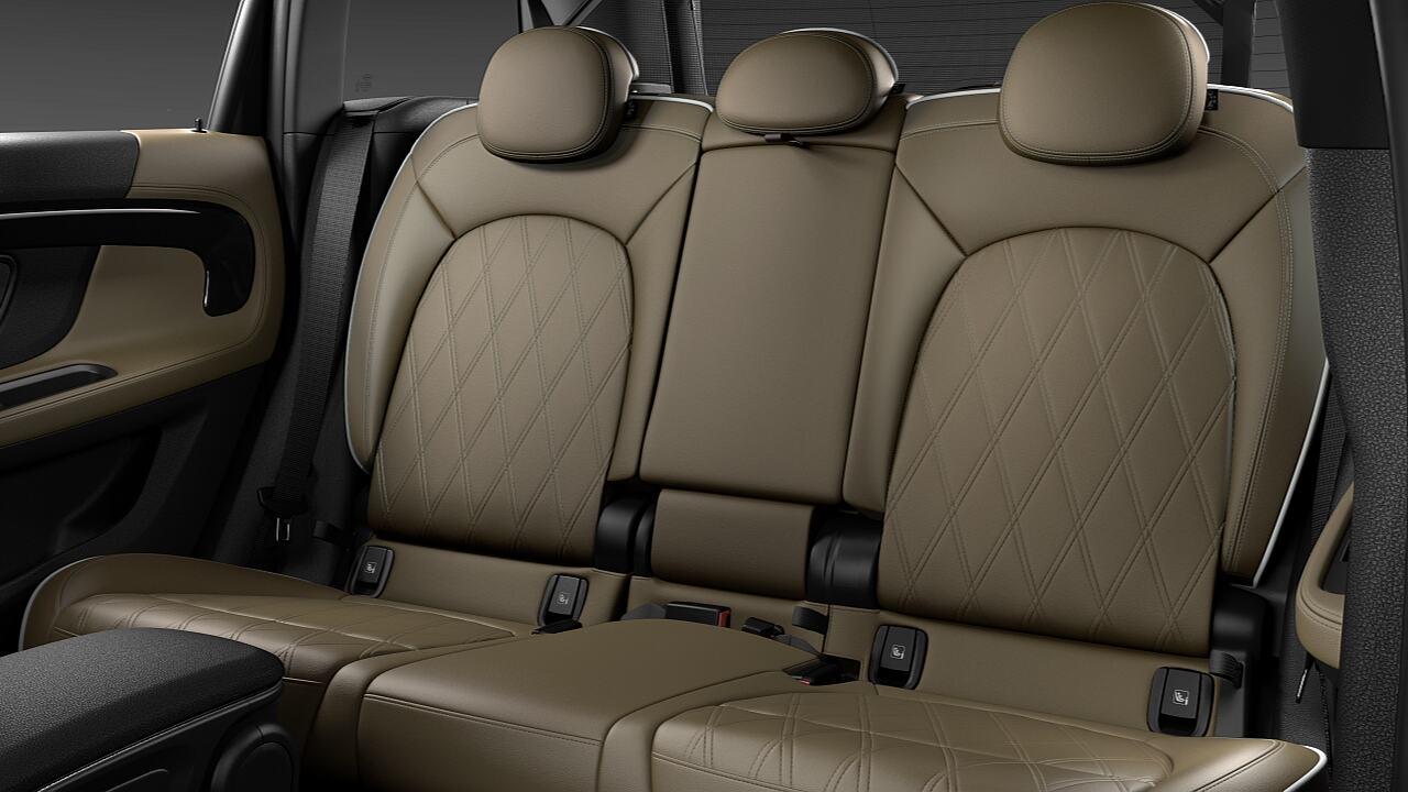 MINI Countryman variable rear seats - SIZE.