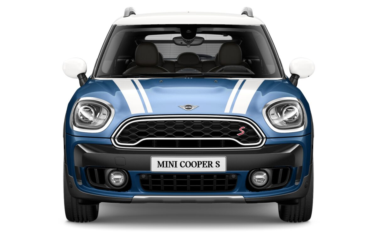 MINI Cooper S ALL4 Countryman front profile