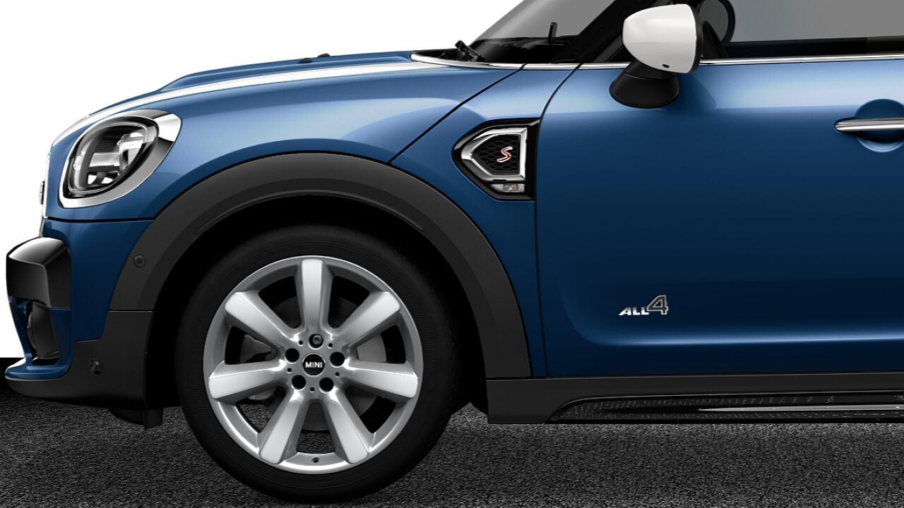 MINI Cooper S Countryman ALL4 exterior design