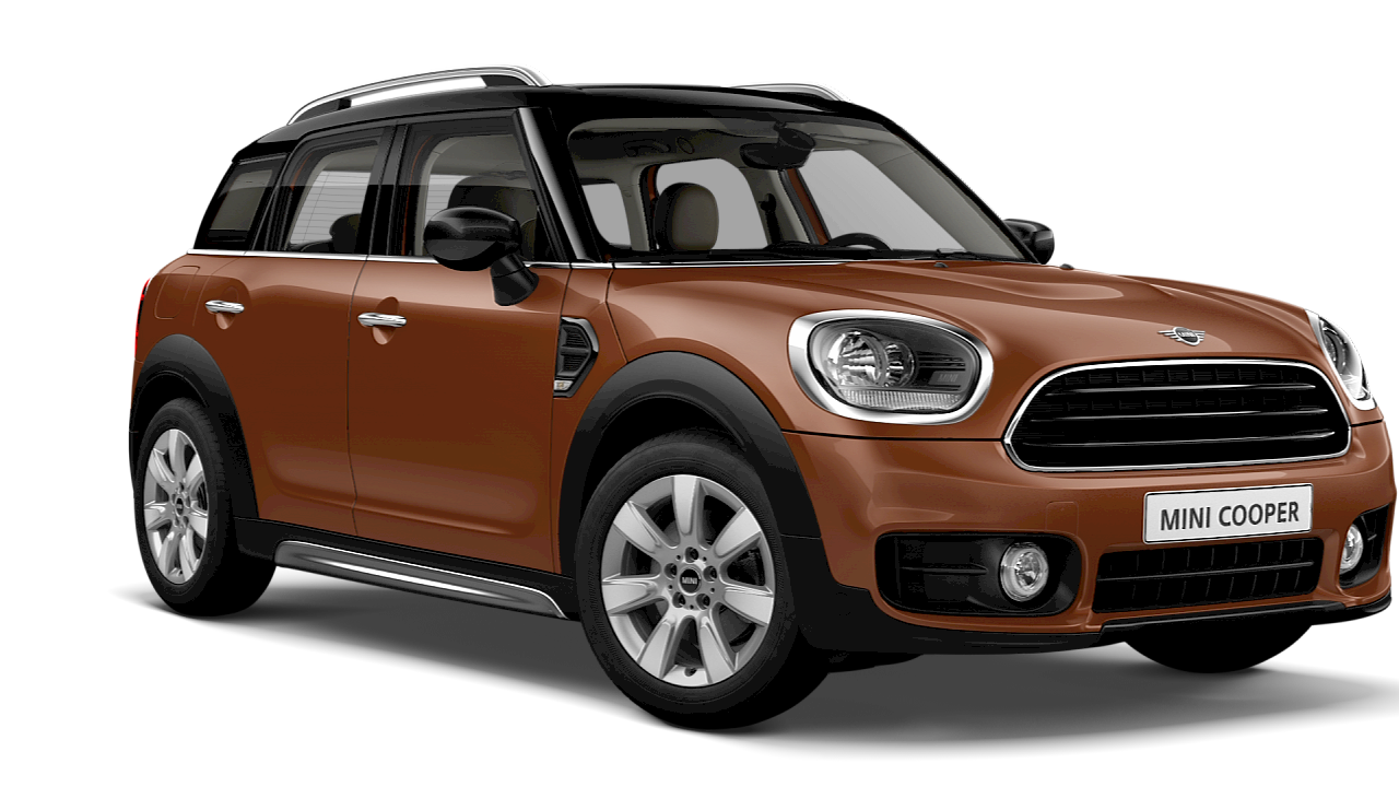MINI Cooper CROSSOVER. – front and side view