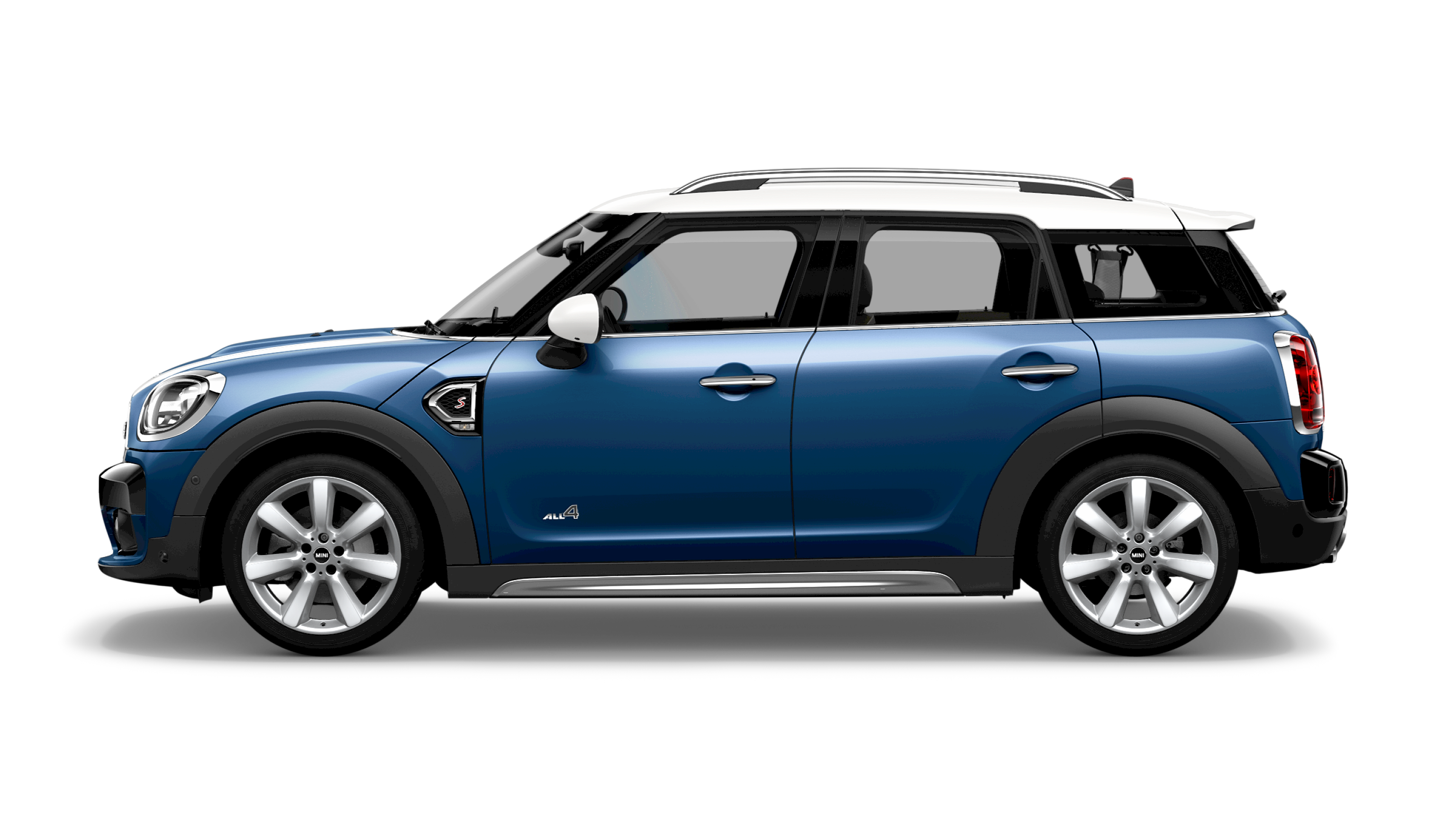 VUE LATERALE MINI COUNTRYMAN
