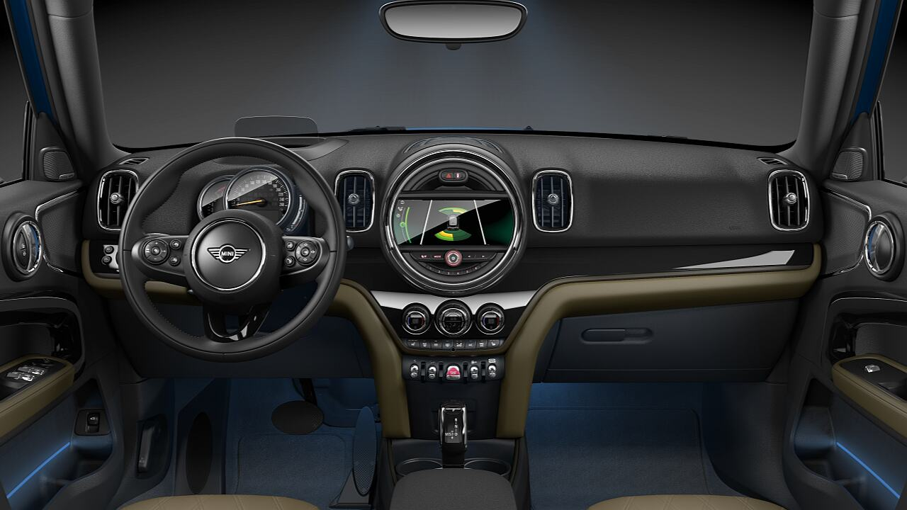 Interior Styles iluminados del MINI Countryman - VALOR.