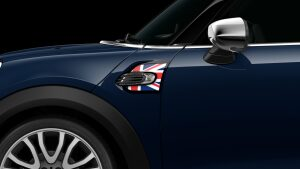 MINI Cooper D Hatch 5-Door union jack side scuttles