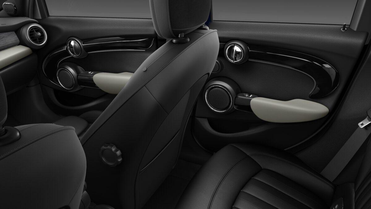 MINI Cooper D Hatch 5-Door rear door design