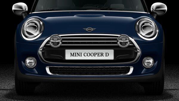 MINI Cooper D Hatch 5-Door front LED headlights
