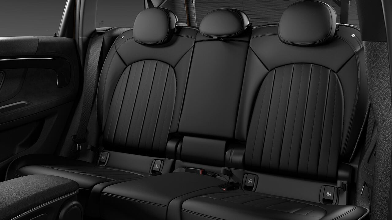 MINI Countryman variable rear seats - CITY.