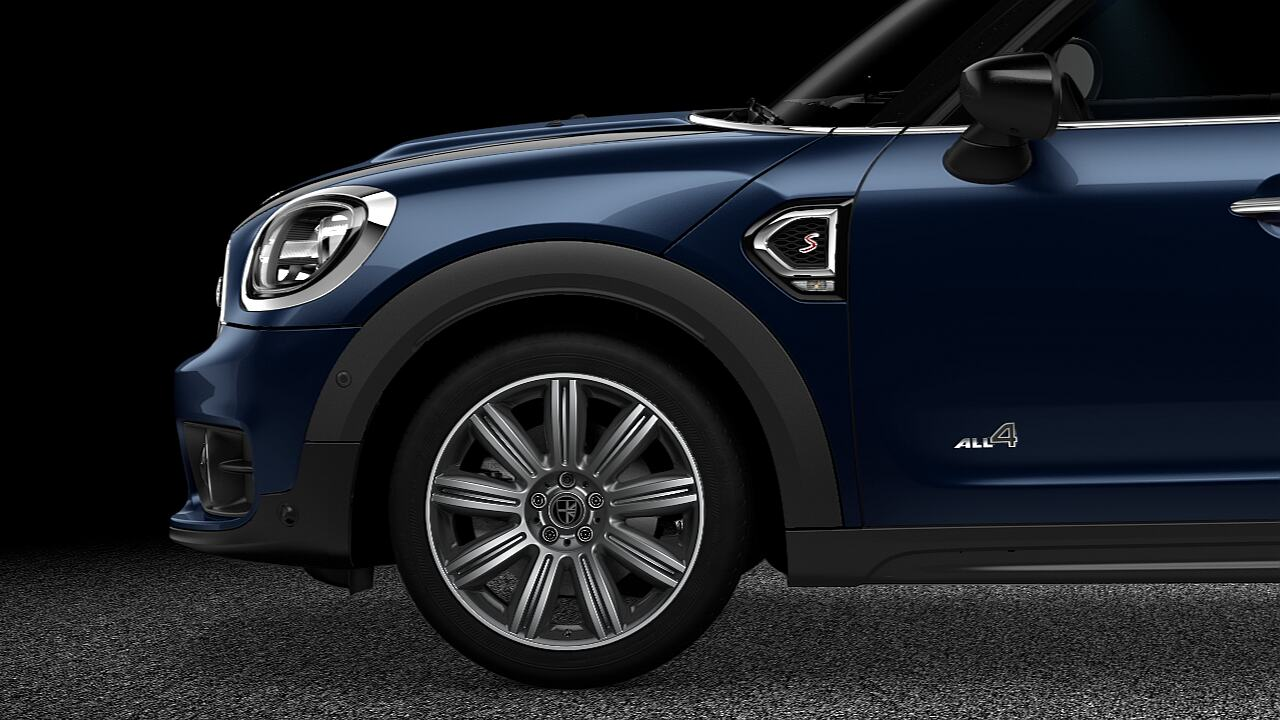 "MINI Countryman 19"" light allowy wheels MINI Yours masterpiece - DESIGN."