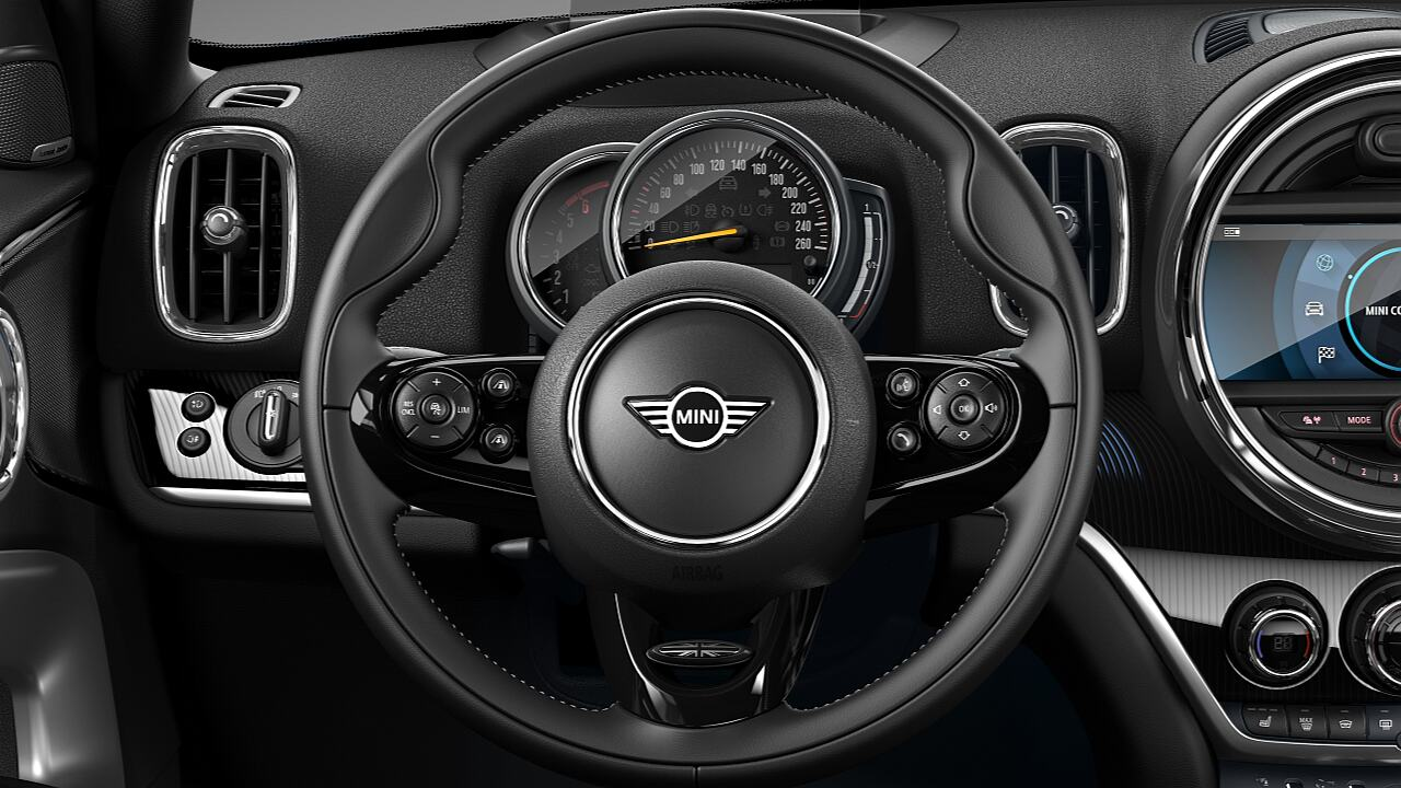 MINI Countryman MINI Yours leather steering wheel - DESIGN.