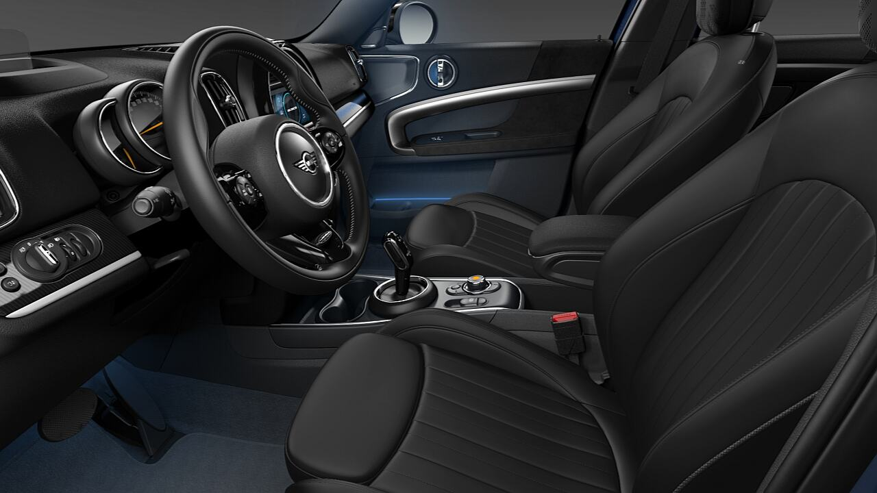 MINI Countryman MINI Yours Leather Lounge - DESIGN.