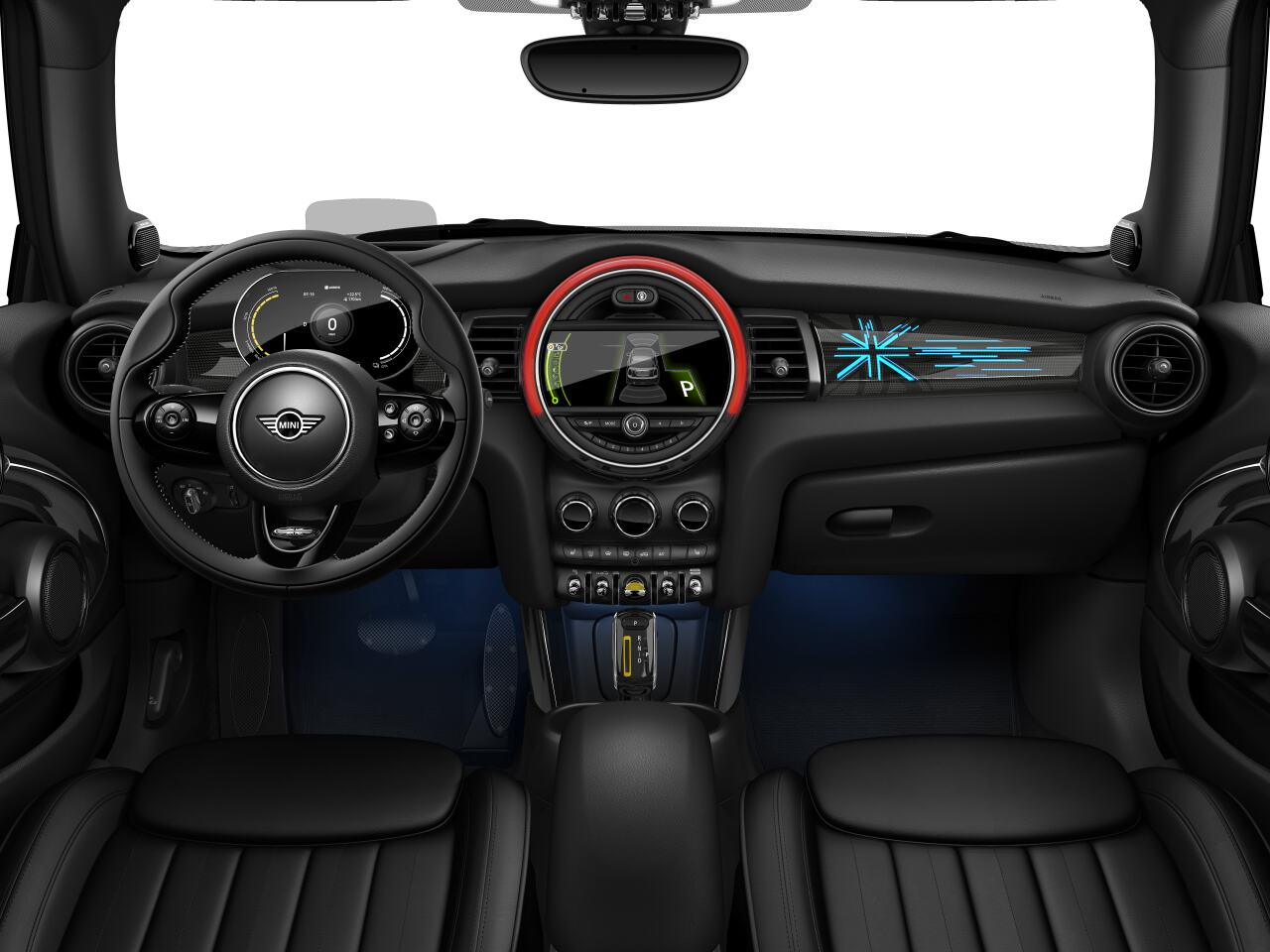 Mini electric – Package XL – interior view - dashboard