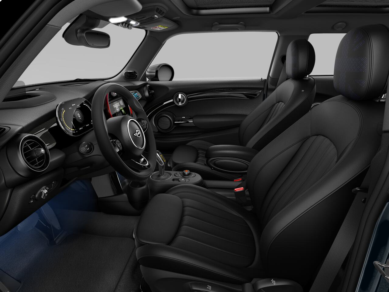 Mini electric – Package XL – interior view - driver's side