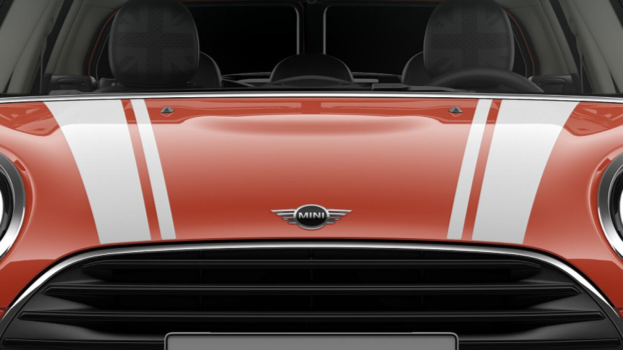 MINI Cooper Clubman – bonnet stripes
