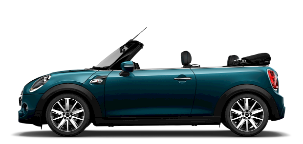 MINI Convertible – Sidewalk Edition – blue