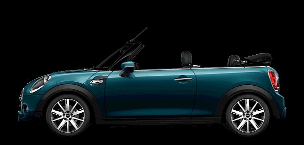 MINI Cabrio –Édition Sidewalk – bleu