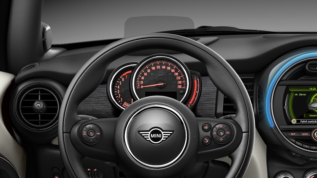MINI Cooper Cabrio Head-Up Display