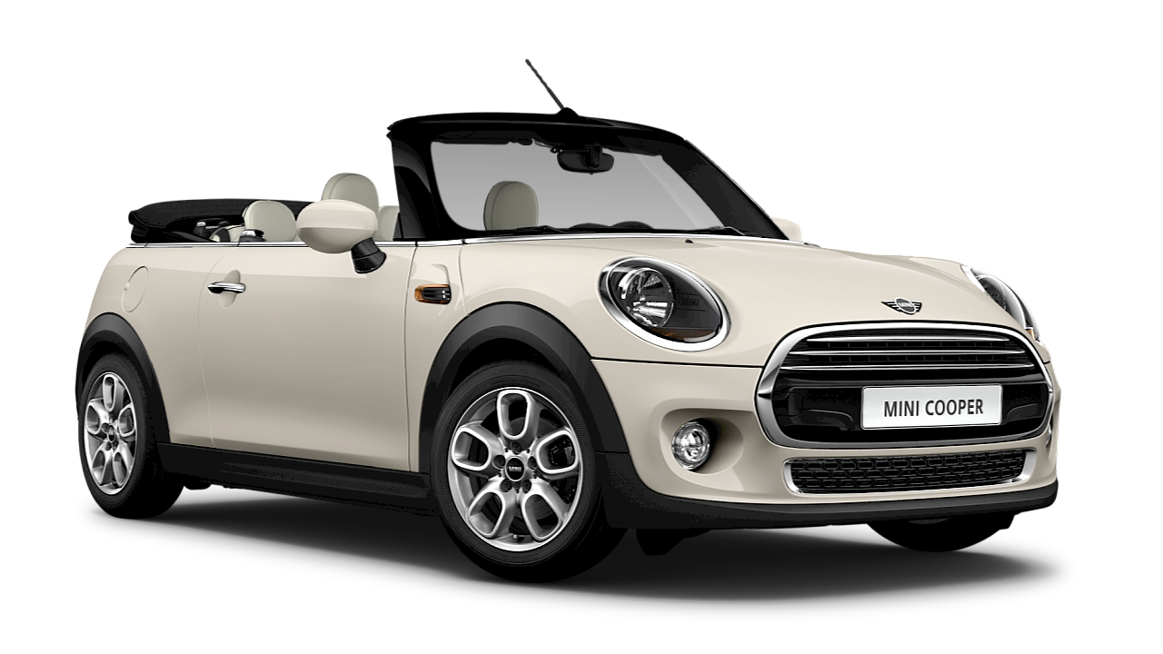MINI Cooper Convertible – blue – side view