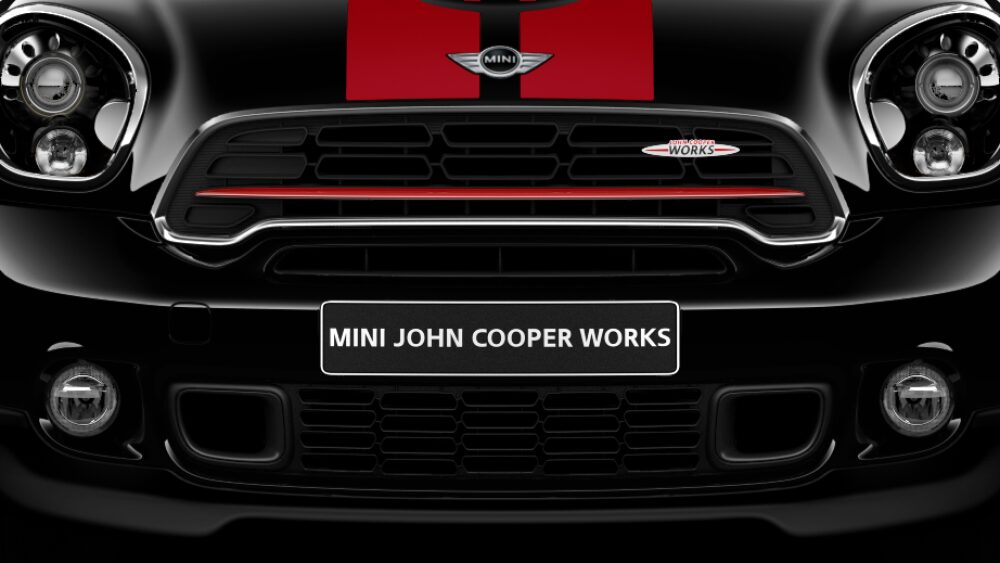 MINI John Cooper Works Countryman ALL4 Rallystyled Frontage