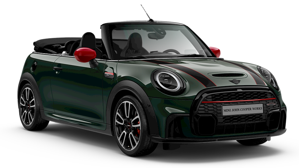 John Cooper Works – MINI Cabrio – najsilnejšie MINI