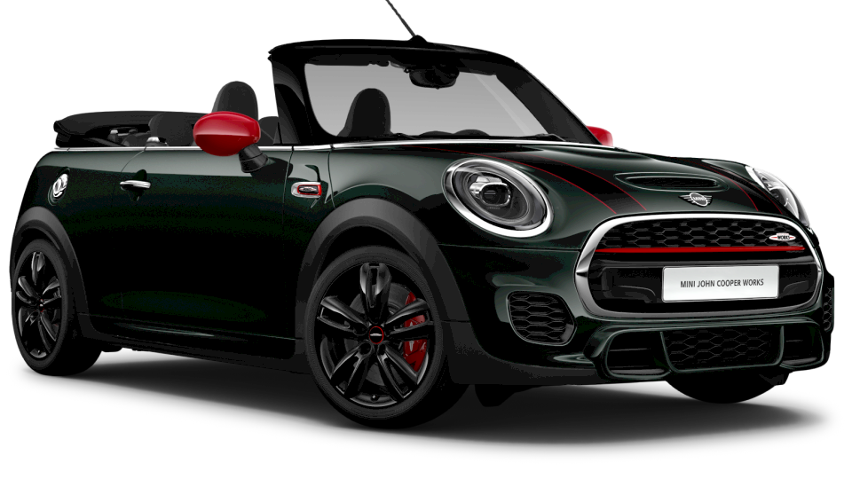 THE MINI JCW CONVERTIBLE