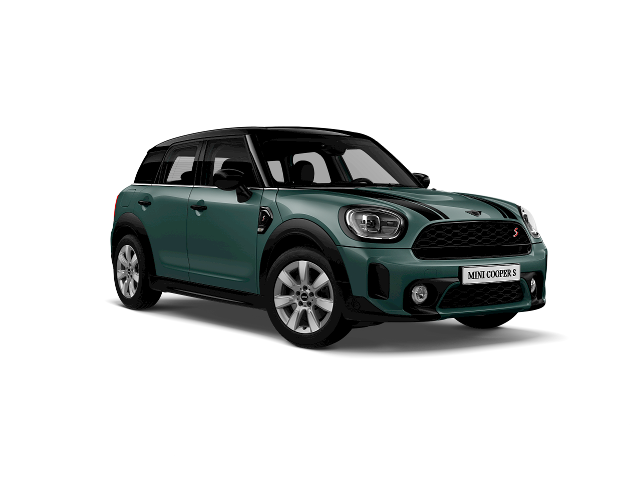 MINI Cooper S Countryman –blue – front and side view