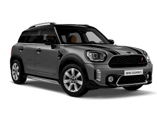 MINI Cooper S Countryman –blue – front and side