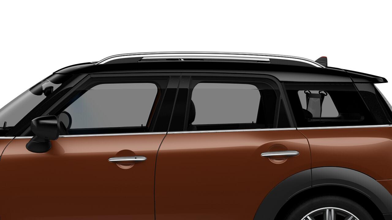 Techo y carcasas de retrovisores en negro del MINI Cooper Countryman