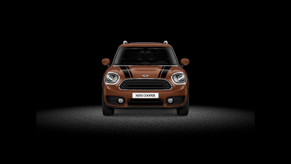 MINI Cooper Countryman – вид спереди.