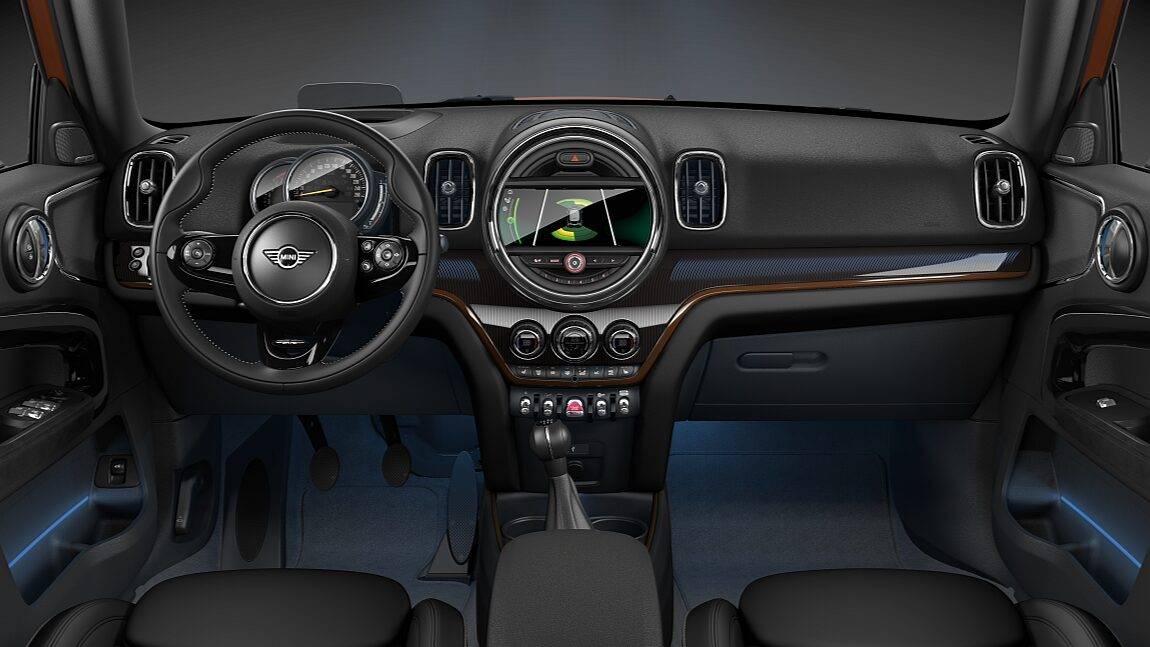 интерьер MINI Cooper Countryman.