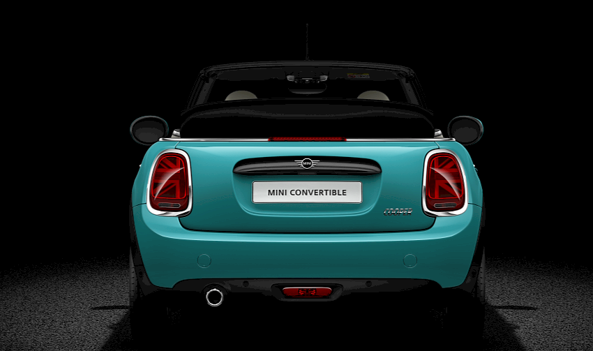 MINI Convertible rear profile