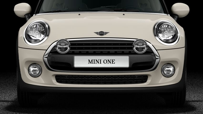 MINI One 3 door hatch LED headlights