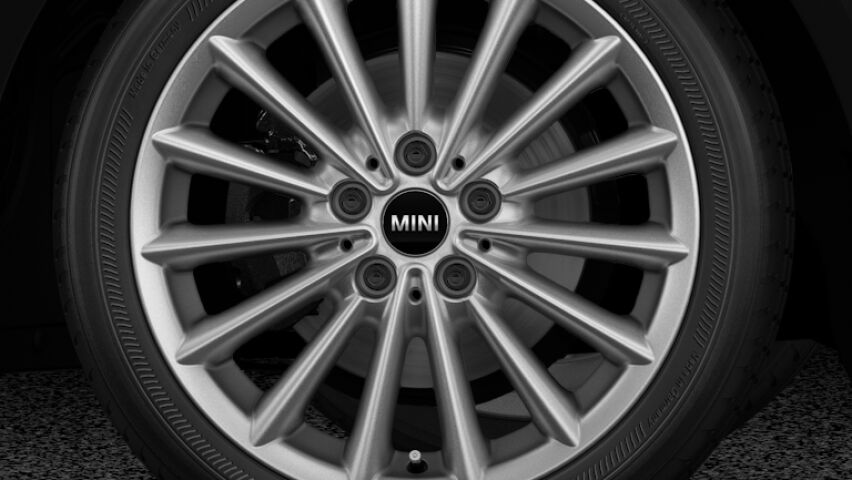 "MINI One Hatch 3-Door 17"" Multi-spoke Light Alloy Wheels"