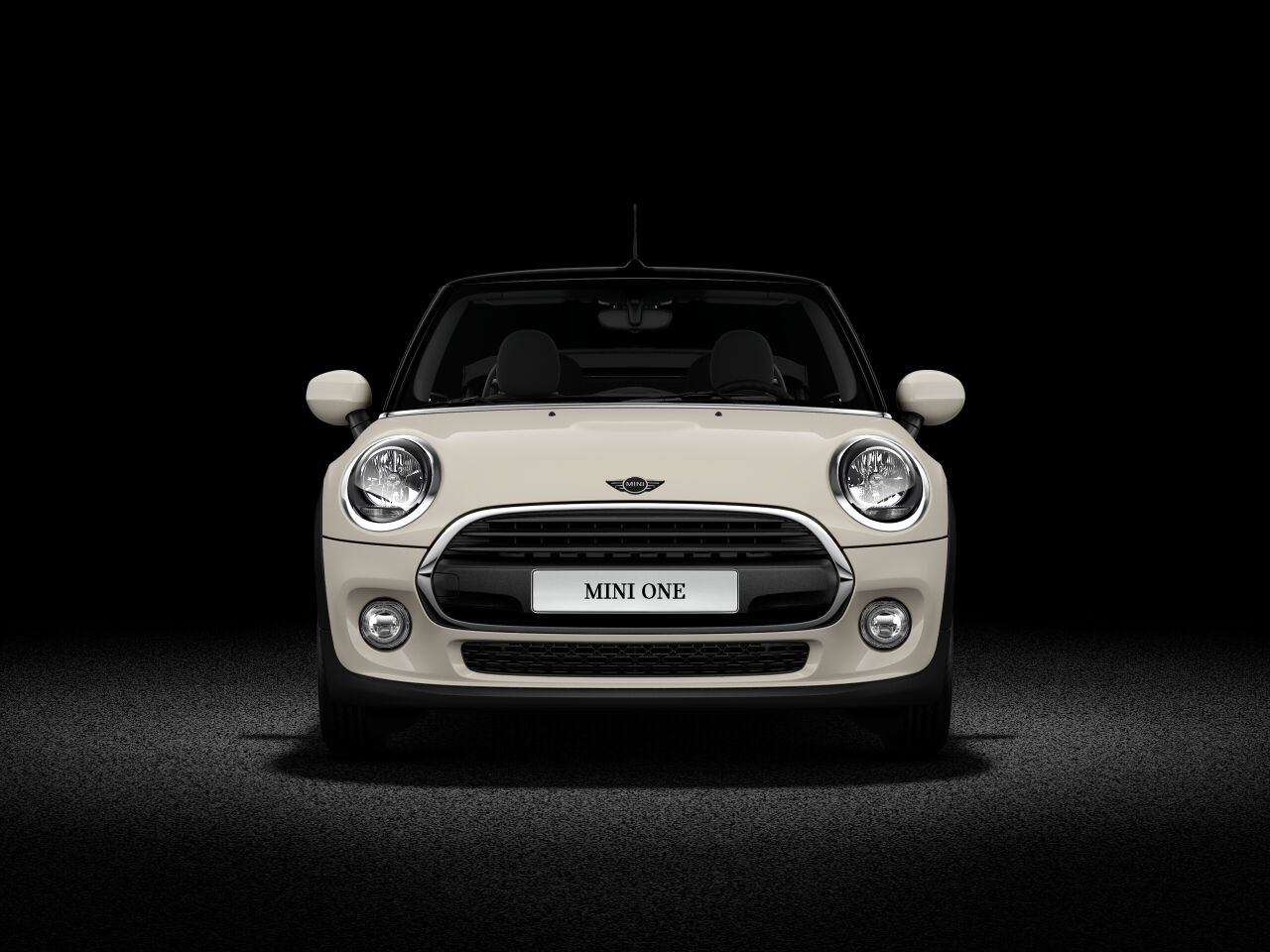 MINI One Convertible front profile