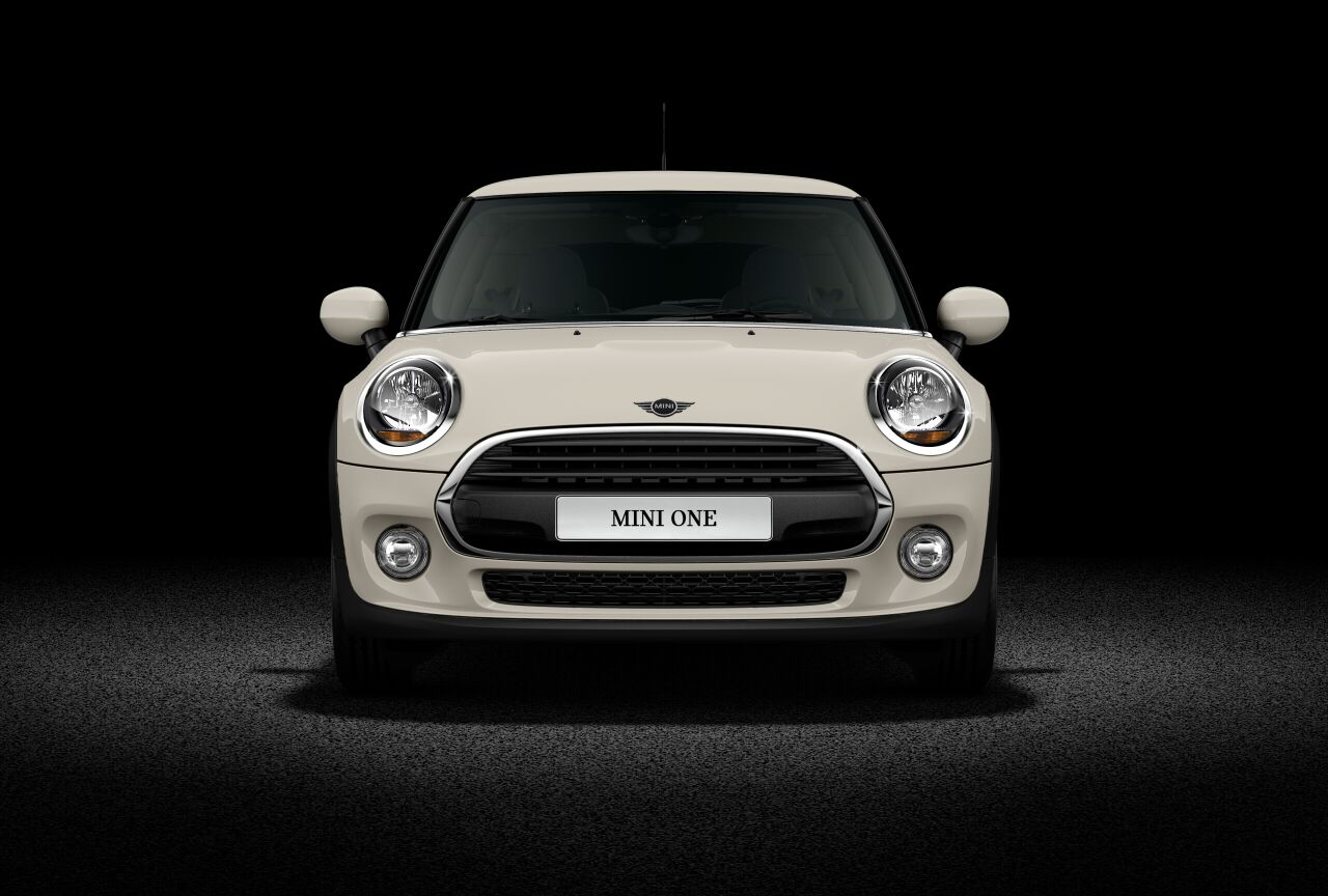 MINI One Hatch 3-Door Front Profile View