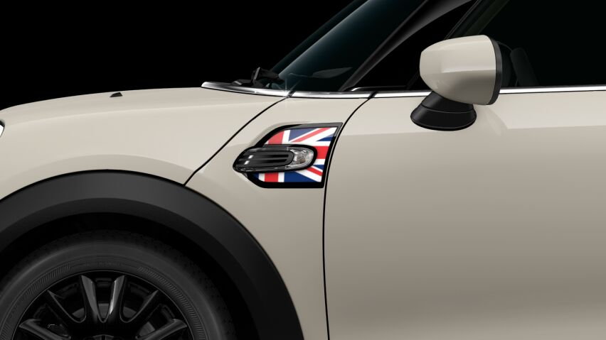MINI ONE 3 DOOR Hatch union jack side scuttles
