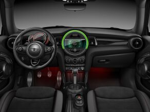 MINI John Cooper Works Hatch interior, dashboard and steering wheel