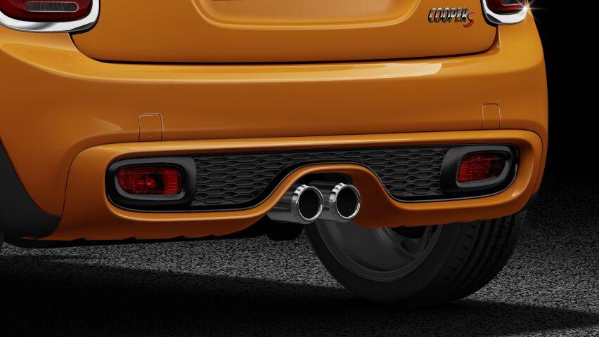 MINI Cooper S 3-deurs uitlaatpijpen