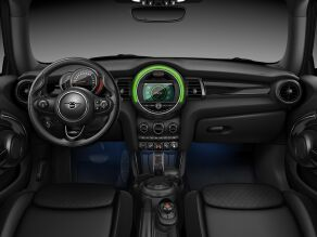 MINI Cooper S 3 Door Interior Dashboard view