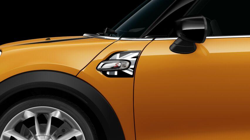 MINI Cooper S 3 Door Black Jack Side Scuttles