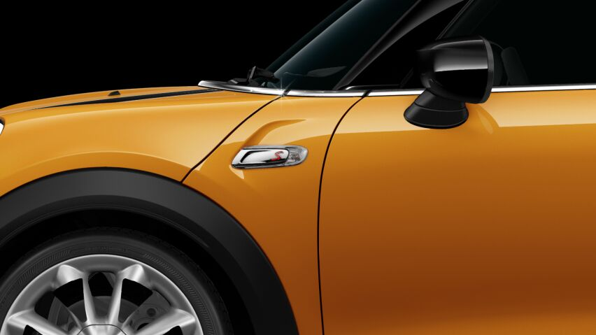 MINI Cooper S 3-deurs Side Scuttle